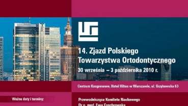 14. Zjazd Polskiego Towarzystwa Ortodontycznego