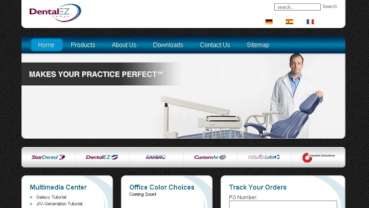 DentalEZ Group redesigns and relaunches its corporate Web site