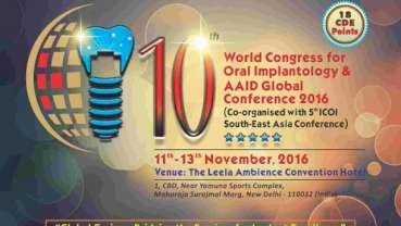 New Delhi welcomes 10th WCOI & AAID global conference 2016