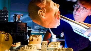 3-D Schnappschüsse für Modellierung der Ersatzzähne