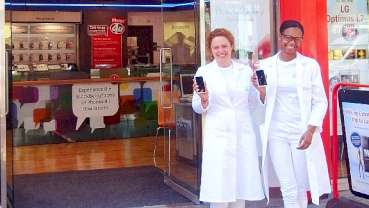 Mobile-phone manufacturer drives business with free teeth-whitening vouchers