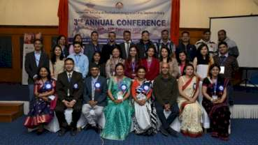 Dr.Rita Singh takes over as the President of the NSPOI at the 3rd Annual Conference in Nepal