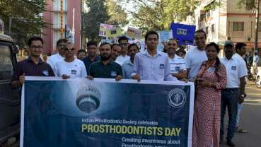 Indian Prosthodontic Society spreads awareness about Prosthodontic services on National Prosthodontist Day