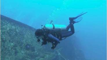 Aspiring scuba divers need to start at the dentist first