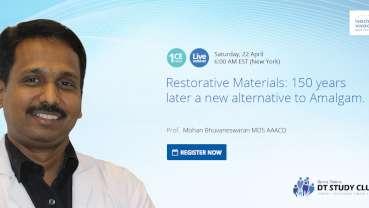 Alternative to amalgam: Webinar introduces new restorative material