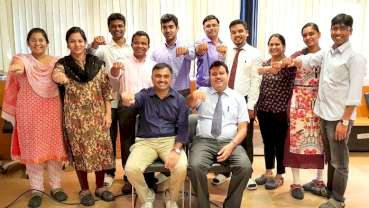 Implant Study Group reaches another milestone, completes 35 batches