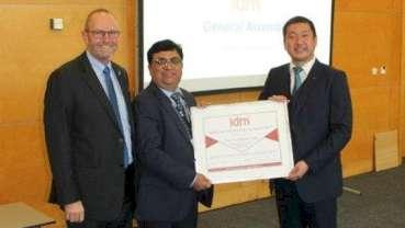 Second annual IDM Global Oral Health Progress Award presented in Madrid