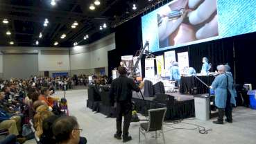 Pacific Dental Congress offers live dentistry in Exhibit Hall