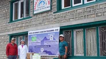 W&H援助尼泊尔世界最高牙科诊所