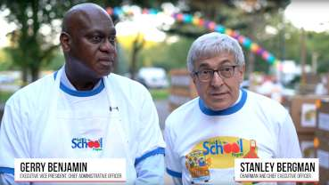 Henry Schein helps students return to the classroom