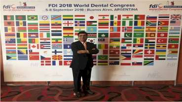 Dr.Mahesh Verma elected to the prestigious FDI World Dental Congress Science committee