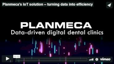 Planmeca offers a comprehensive IoT solution for large clinics and clinic chains
