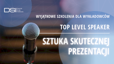 Top Level Speaker – klucz do sukcesu w sztuce prezentacji