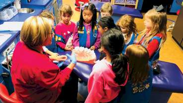 Dental hygiene education project for Scouts expands