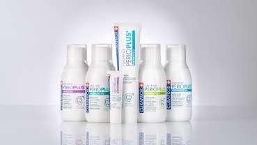 Perio Plus+, La nouvelle gamme innovante de bains de bouche et gels CURAPROX