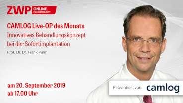 Live-OP im Rahmen des 14. EUROSYMPOSIUMS am 20. September