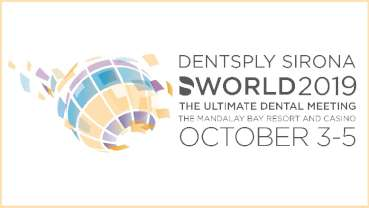 Dentsply Sirona World 2019 fast approaching