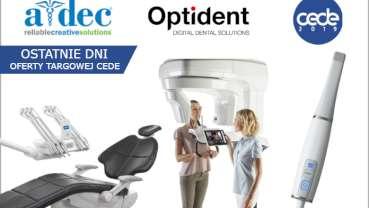 Ostatnie dni oferty targowej CEDE 2019 w Optident!