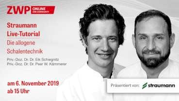 """Straumann Live-Tutorial """"Die allogene Schalentechnik"""" am 6. November"""