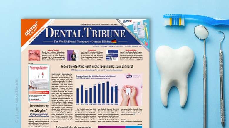 Die aktuelle <em>Dental Tribune Germany</em>: Schwerpunkt Implantologie