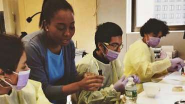 Pipeline program inspires a diverse community of students to study dentistry