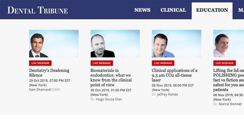 Dental Tribune Webinars - Efteruddannelse når du har tid