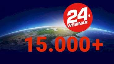 Erstes 24-Stunden-Webinar der Zahnmedizin erreicht 15.000 Anmeldungen
