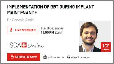 Guided Biofilm Therapy to take centre stage in free webinar