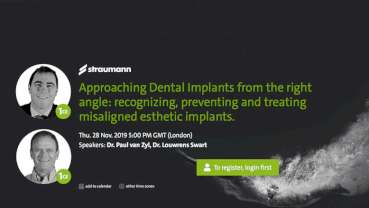 The story of misaligned implants gets put straight in free webinar