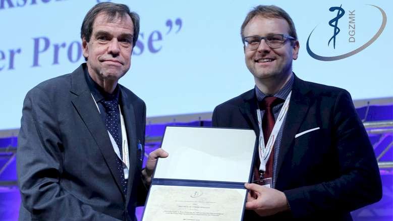 Priv.-Doz. Dr. Dr. Christian Kirschneck erhält Miller-Preis