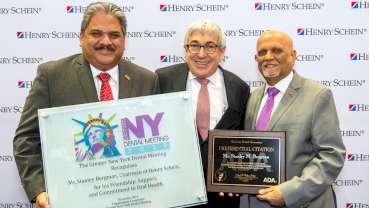 Stanley M. Bergman honored for advancing dentistry